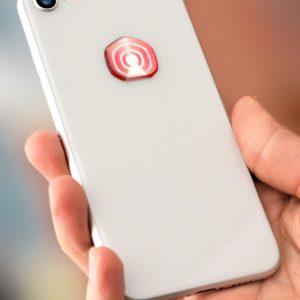 3D EMF zaštitni stiker Perun protector-crveni