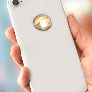 3D EMF zaštitni stiker Perun protector-zlatni