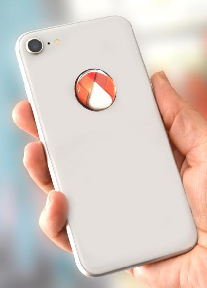 3D EMF zaštitni stiker Perun protector-narandžasti