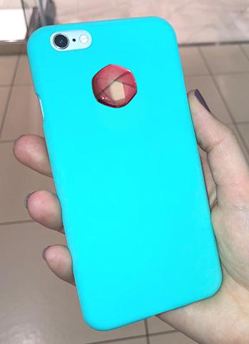 3D EMF zaštitni stiker Perun protector-pink