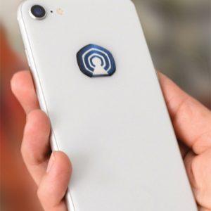 3D EMF zaštitni stiker Perun protector-plavi