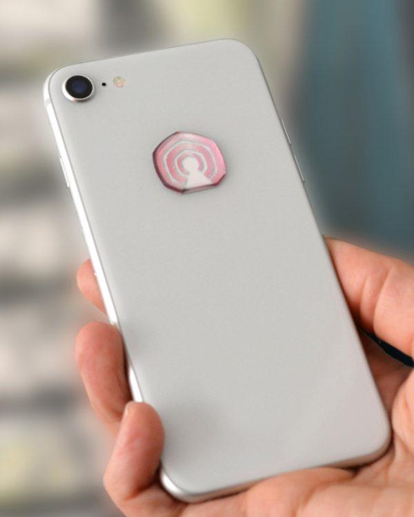 3D EMF zaštitni stiker Perun protector-roze